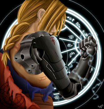 Edward the FullMetal Alchemist by aca985