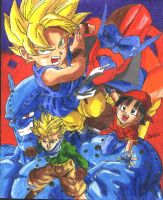 Dragonball Gt Group Pic by jeremymazumia