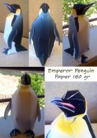 The Emperor Penguin Papercraft by ValhallaAsgard