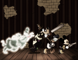 Disney - Lonesome Ghosts by Georgia-O-Queef