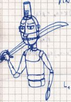 Not A Puppet Soldier - Scribble by vonRibbeck