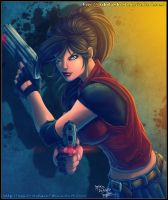 Claire Redfield by diabolumberto