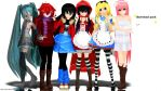MMD: Model Download Pack. by 00psy