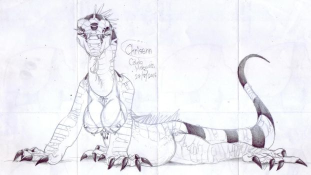 Iguananess by VinVagia