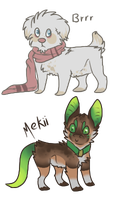 2 adopts thast already have names by Chargay