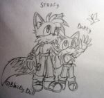 .:Darky and Strafy:. by Blacky-SC
