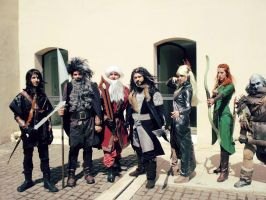 The Hobbit cosplay group by ShinjiRHCP