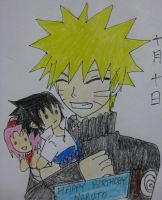 Happy Birthday Naruto by rrs