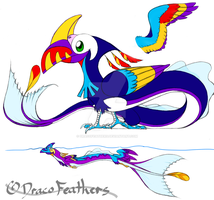 The Touriffin by DracoFeathers