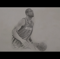 Dwyane Wade - Pencil by Dylan21