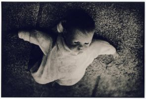 Poppet, Lith print by darkosaric