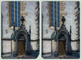 Goerlitz Architecture II ::: HDR Cross-Eye 3D by zour