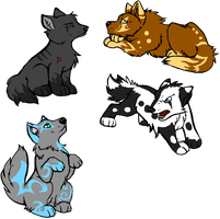 pup point adopts by neomon