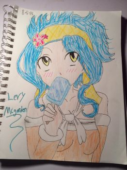 Levy Mcgarden by CoolKiddIce