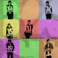 B2ST: in squares of colors by Elmas
