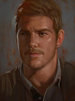 Chris Pratt by Andantonius