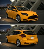 Ford Focus ST '13 by GT6-Garage