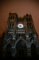 Cathedral of Amiens by Heurchon