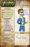 Fallout character by spidersarecoming