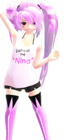[MMD Newcomer] Nina Solmia~ (Sexy ver.) by topex-psy