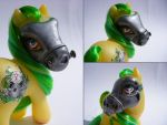 My Little Pony Custom Toxica by eponyart