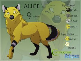 Alice Ref Sheet by Nightrizer