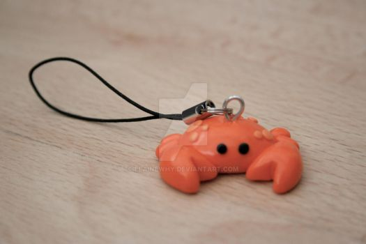 crab charm by elainewhy
