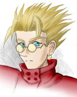 Vash Portrait by kyubichan