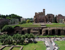 Imperial palace, Rome. by Pylo