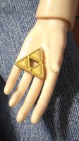 a triforce for Chase's collection by ShelandryStudio