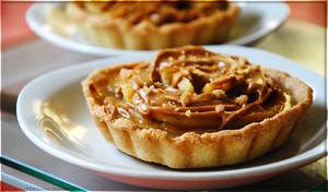 Apple and Speculoos Tart by Cachahuete