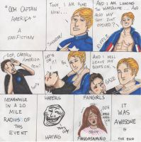 Ooh Captain America by JustNineLetters