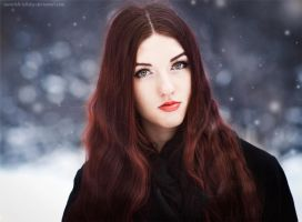 just for your cold kiss by Snowfall-lullaby