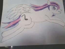 MELODY THE PEGASUS by SHADOWDARK6662012