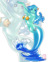 Nalulani The Slime Mermaid by KittyCatKissu