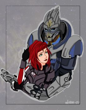 Shepard...I....love you too by LizDepp