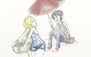 Umbrellas Are Manly by Itaweasel-hime