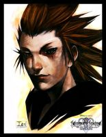 KH-HoW-- OrgXIII AXEL by DarkChildx2k