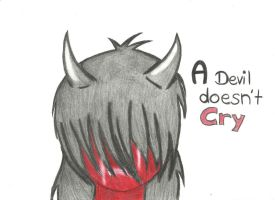 A devial doesn't cry... by SoullessRiku