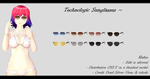 [MMD] Technologic Sunglasses DL ~ by o-DeadSilverVirus-o