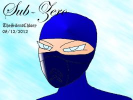 Sub Zero Art Trade by TheSilentChloey