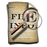 Steampunk File Properties Icon by yereverluvinuncleber