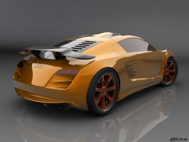 Audi RSZ concept view: back by cipriany
