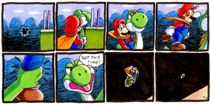 Super Mario World Strip FCBD by MewyMarsher