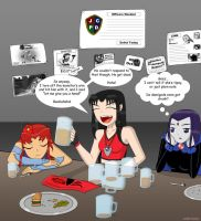 Girl's Night Out - Titan Legends Style by LinkStar-Number1