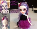 Monster High doll Repaint Catrine Demew SOLD by Katerina-Art