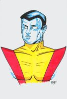 Colossus Headshot Colored by RichBernatovech