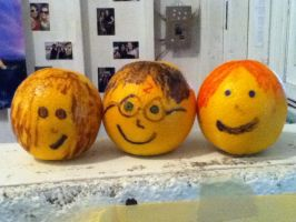 Harry Potter Oranges! by FearlessLullaby