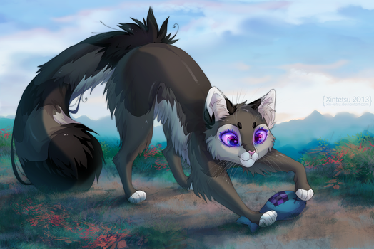 Commission: Windsong by Xin-tetsu