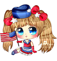 UNITED STATES OF AMERICA by KawaiiiJackiiie